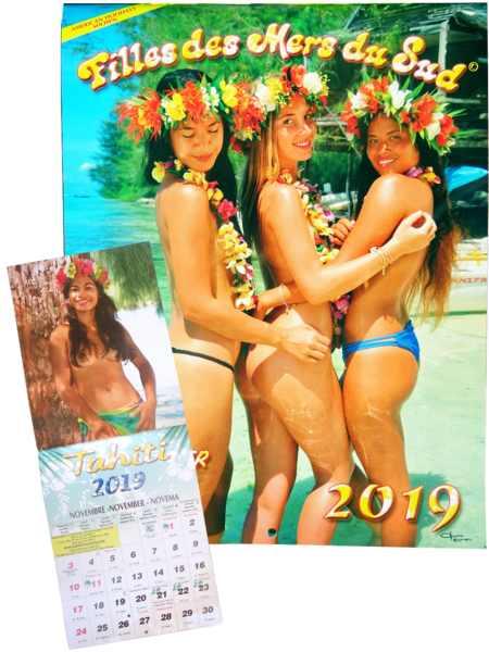Calendario Ragazze.Calendario 2019 Ragazze Dei Mari Del Sud Pacific Promotion